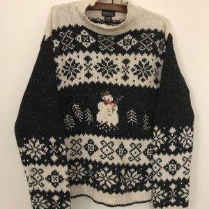 Vintage Oversize Christmas sweater!