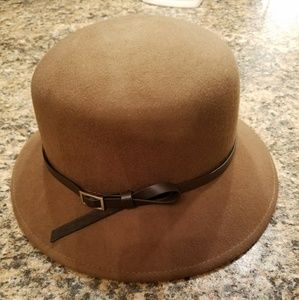 BEAUTIFUL TRENCH FELT NINE WEST FALL HAT
