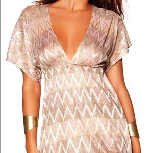 💋NWT VITAMIN A GOLD DRESS💋