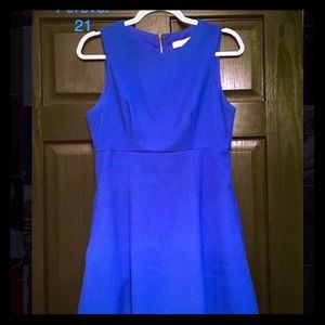 Forever 21 blue A-line sleeveless dress
