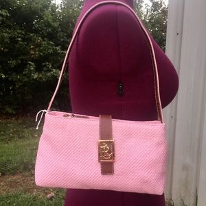 Pale Pink Lauren Small Shoulder Bag