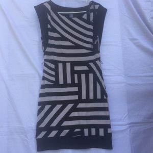 Dress grey & black Bisou Bisou Sz 10