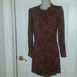 Forever 21 belted fall dress