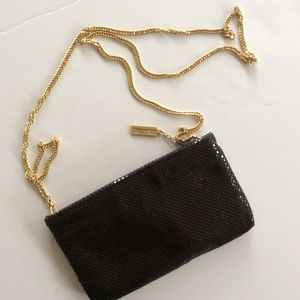 WHITING & DAVIS CHAINMAIL CROSSBODY