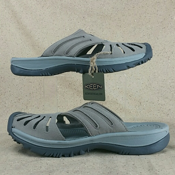 33feadd7cce Keen Rose Slide Sandals Shoes Brindle W 11