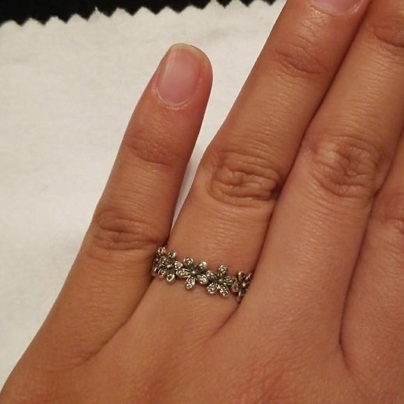 a78c673ec PANDORA Sterling Silver Dazzling Daisy Meadow Ring.  M_59ef1f8bc284566c2601c309