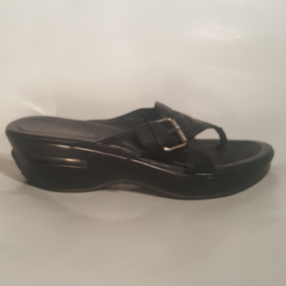 89c9edfecc56 ... canada cole haan nike air sandals womens size 7.5b black b3427 5b500