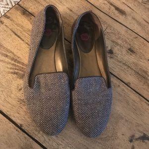 BP tweed loafers