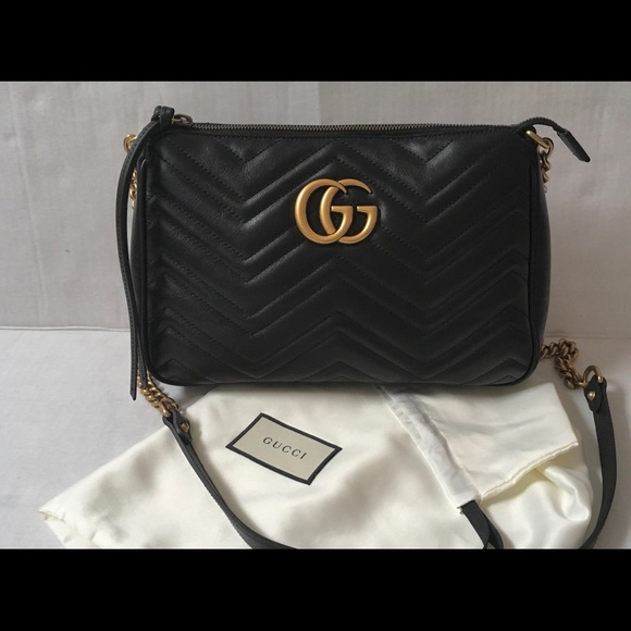 3ef240c41bd Gucci Marmont Zip Cross body bag Medium