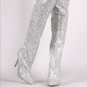 BRAND NEW! Over-the-Knee Disco Boots