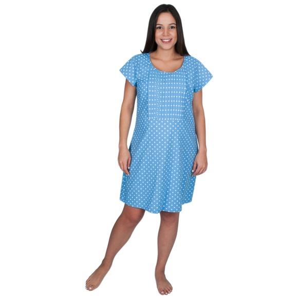 My Bella Mama Intimates & Sleepwear   Cotton Poplin Nursing ...