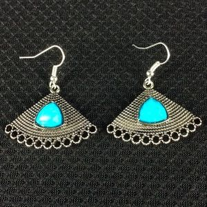 Jewelry - New Blue and Silver Earrings