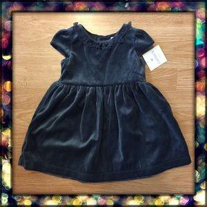 {Carter's}baby girl velour dress