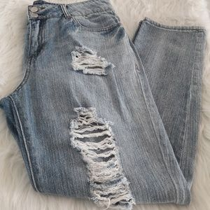 Denim - Juniors straight leg jeans size 7