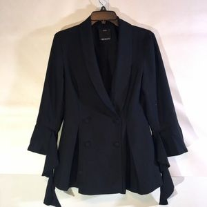 C MEO Collective Jackets   Coats - C MEO Collective Women s Black Underground  Blazer 4ee9f4dd349