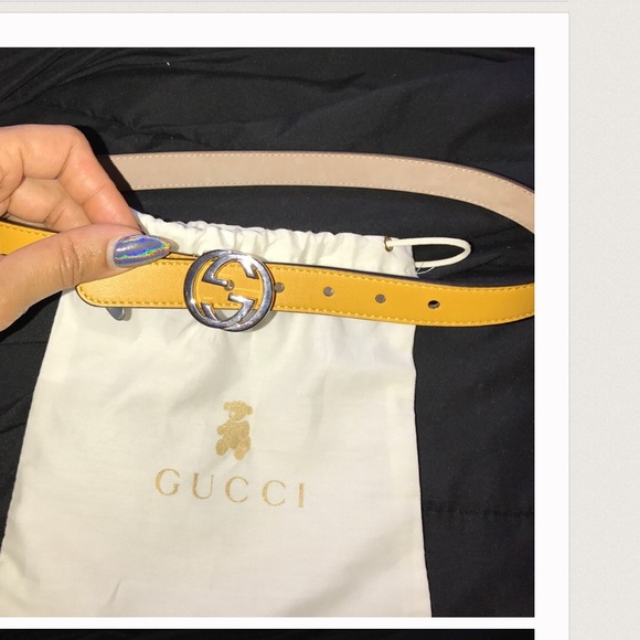 1fc6103e463 Gucci Other - Kids Gucci all leather belt