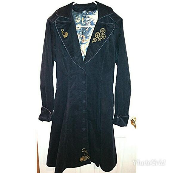 04f1e0b86f381 Hot Topic Jackets   Blazers - Doctor Who Navy Tardis Coat