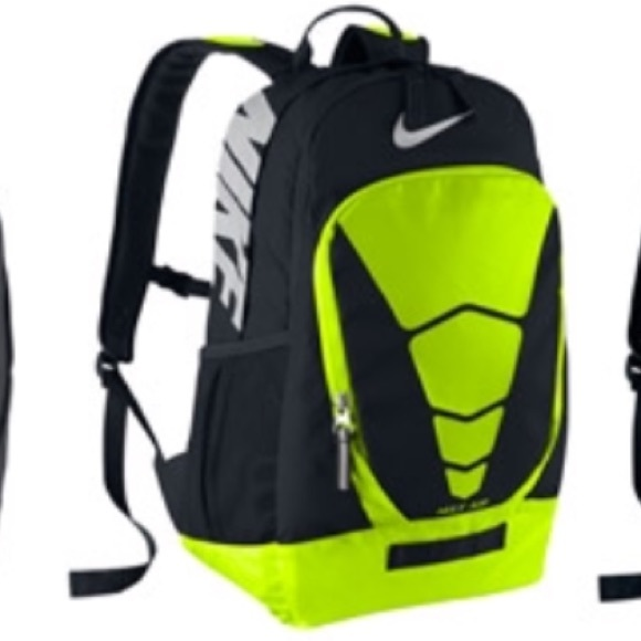 8710b3e90f5bc4 Nike neon yellow max air vapor backpack. M 59ef4eabd14d7be715001a4d