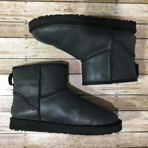 05f5d55441b UGG Mini Deco Full Grain Leather Boots