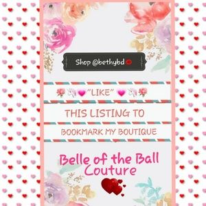 Welcome to Belle of the Ball Couture Boutique