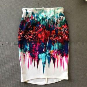 Beautiful pencil skirt.