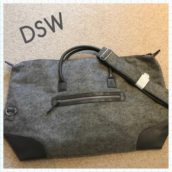 ed91f238122b DSW Handbags - DSW Flannel Weekender Tote