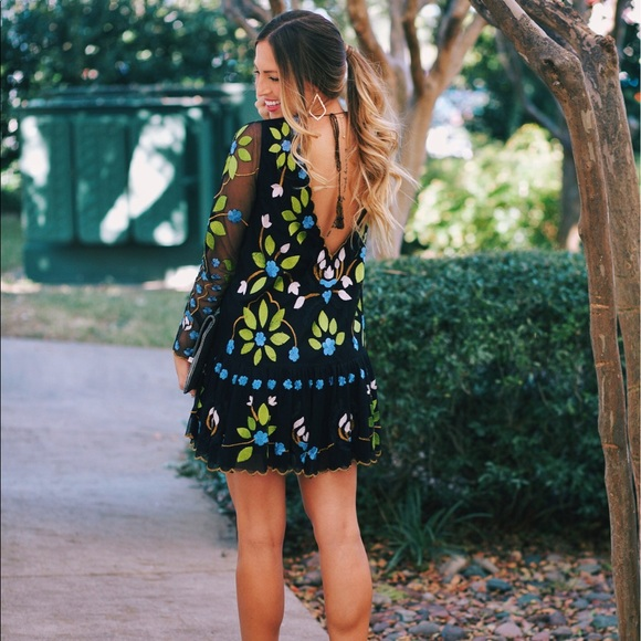 f8ee06bca0333 Free people hearts are wild mini dress