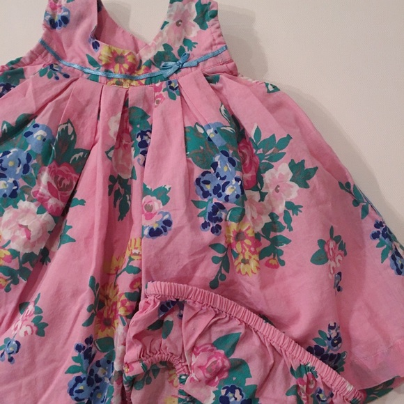 Boden Dresses - Baby Boden floral Dress and Bloomer Set