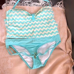 Juicy Couture two piece Swim suit