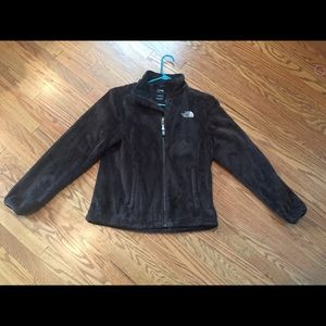 Fuzzy Chocolate Brown North Face