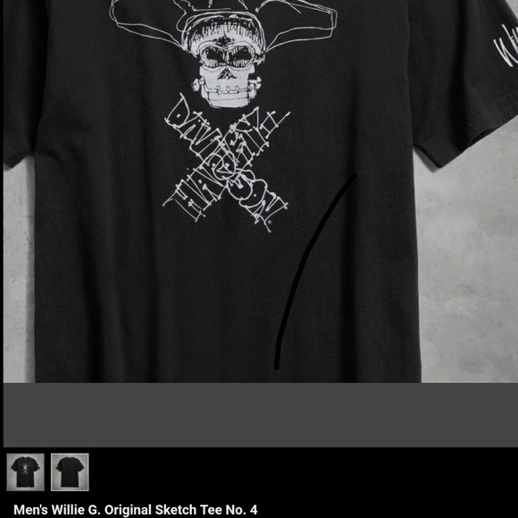 Harley Davidson Shirts Harley Davidson Original Sketch Design