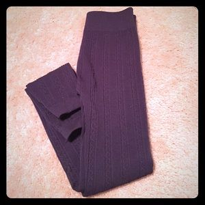 Pants - Fleece lined leggings in one size fits most.