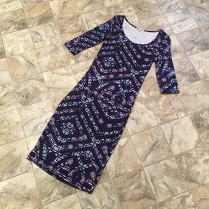 NWOT CHARLOTTE RUSSE printed bodycon dress