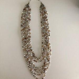 New Nakamol Multi Strand Beaded Necklace