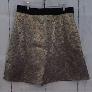 Narciso Rodriguez for Design Nation Gold Skirt