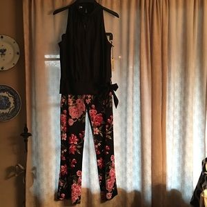 Kay Unger Silk Cocktail pants and top