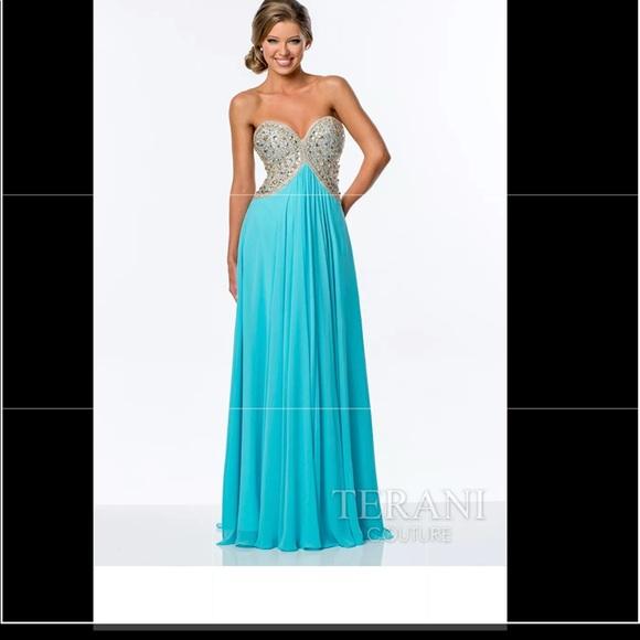 Terani Couture Dresses   Prom Dress Size 10   Poshmark
