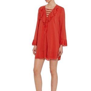 Iro red dress