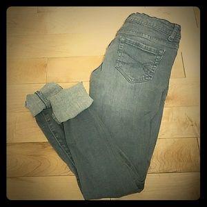 Aeropostale grey stretch jeans