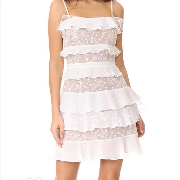 For Love And Lemons Dresses For Love Lemons Cosmic Tiered Lace Dress Poshmark