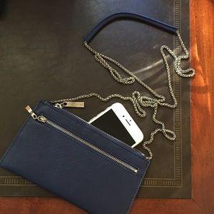 Sorial Saffiano leather wallet crossbody