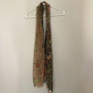 Accessories - Flower Scarf