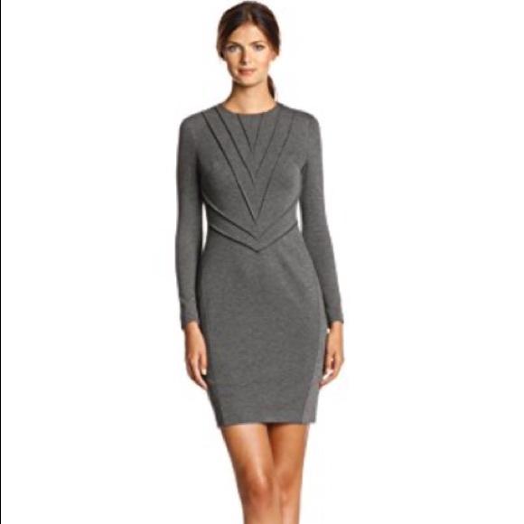 Vince Camuto Dresses | 10 Pintuck Ponte Knit Sheath Dress | Poshmark