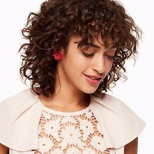 """NWT Kate Spade """"rosy posies"""" statement studs"""