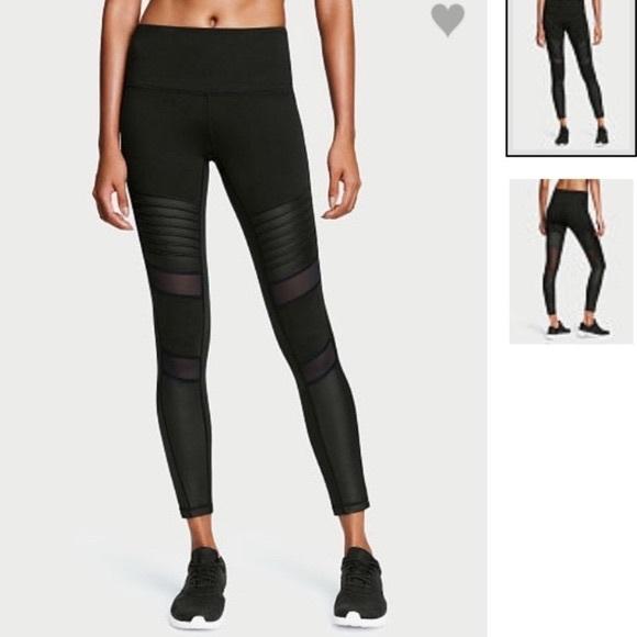 51e5cdb2f5191 Victoria's Secret knockout moto mesh panel legging.  M_59ef8ba74e8d175d2d010df8