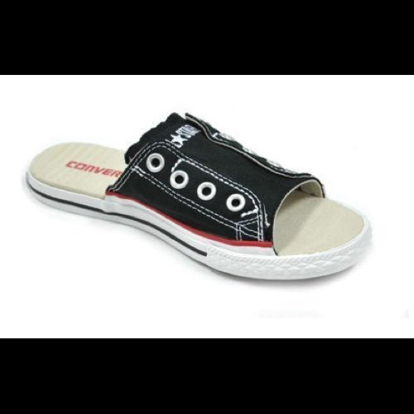 Converse Shoes - Converse Chuck Taylor All Star cut away Slide e5e58d55f