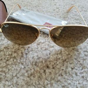 Ray-Ban Accessories - Ray-van Matte Classic Aviator sunglasses