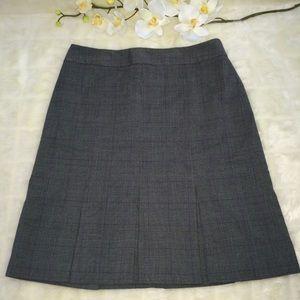 Ann Taylor Loft Pencil Career Grey Skirt s 2