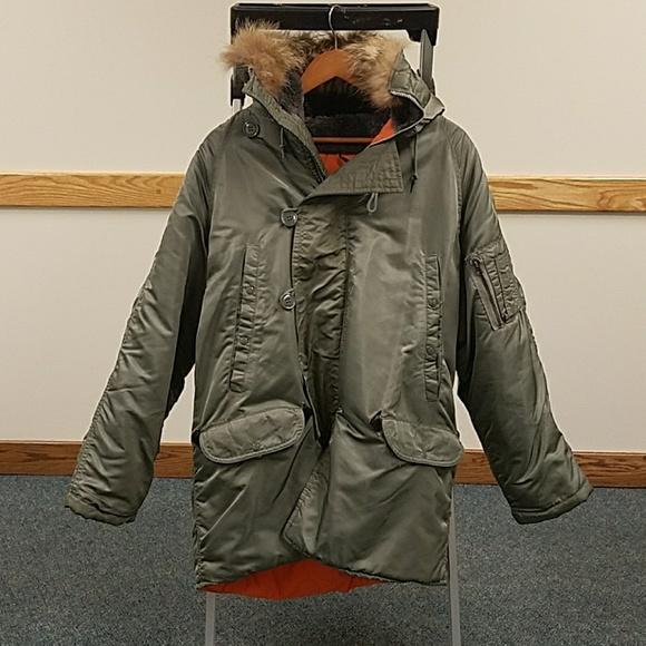 649e4c77ebc Golden Fleece Other - Vintage military parka Men s Flying jacket