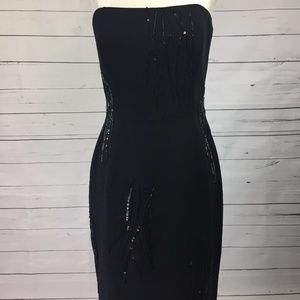 Niteline sequin black dress